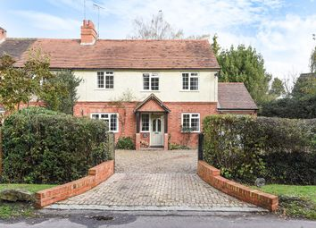 Thumbnail 4 bed cottage for sale in Lower Common, Eversley, Hook