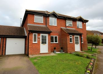 Thumbnail 3 bed semi-detached house for sale in Tyne Close, Flitwick