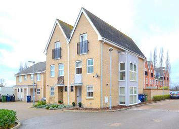 Thumbnail 4 bed end terrace house for sale in Linton Close, Eaton Socon, St Neots, Cambridgeshire