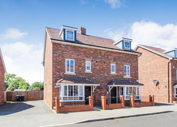 Thumbnail 4 bed semi-detached house for sale in Gold Furlong, Marston Moretaine, Bedford