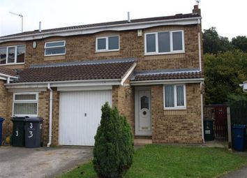 Thumbnail 3 bed semi-detached house to rent in 5 Bude Court, Monk Bretton, Barnsley