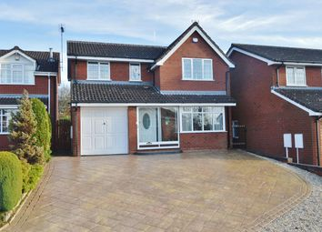 Thumbnail 4 bed detached house to rent in Hartlebury Close, Heath Hayes, Cannock
