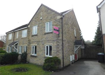 Thumbnail 3 bed semi-detached house to rent in Campbell Close, Walshaw, Bury