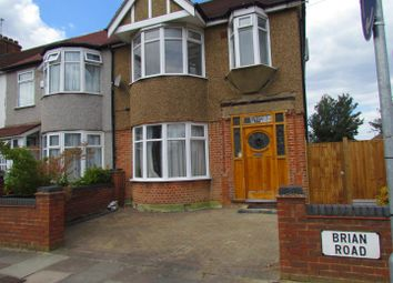 Thumbnail 3 bedroom end terrace house to rent in Brian Road, Chadwell Heath, Romford