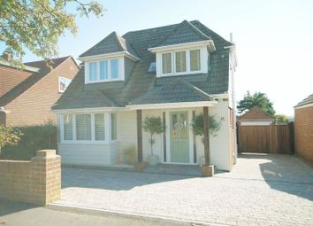 Thumbnail 3 bed detached house for sale in Hill View Road, Portchester, Fareham