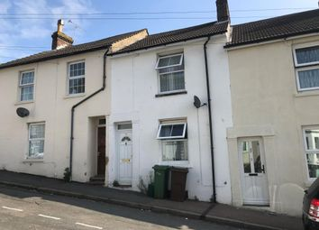 Thumbnail 2 bed terraced house for sale in 24 Mount Pleasant Road, Folkestone, Kent