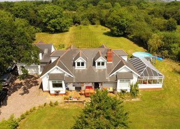 Thumbnail 6 bed detached house for sale in Cross Common Road, Dinas Powys