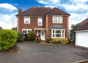 Thumbnail 4 bedroom detached house for sale in Britten Close, Horsham