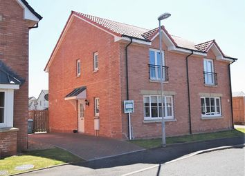 Thumbnail 3 bed semi-detached house for sale in Shankly Drive, Newmains, Wishaw
