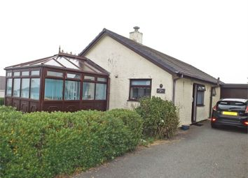Thumbnail 3 bedroom detached bungalow for sale in Craig Ddu Estate, Amlwch, Anglesey