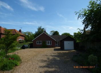 Thumbnail 3 bed detached bungalow to rent in Norwich Road, Ditchingham, Bungay