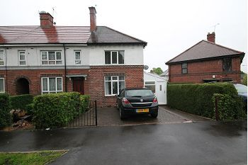 Thumbnail 2 bed terraced house to rent in The Greenway, Greenhill, Sheffield