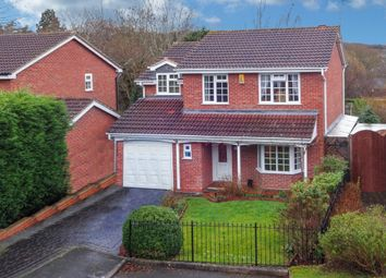 Thumbnail 4 bed detached house for sale in Peterbrook Close, Oakenshaw, Redditch