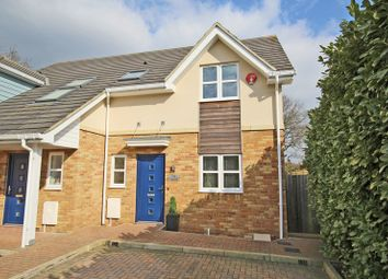 Thumbnail 3 bed semi-detached house for sale in Station Road, New Milton