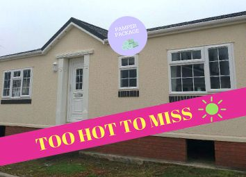 Thumbnail 2 bed lodge for sale in Dogdyke Hawthorn Hill, Coningsby Lincolnshire