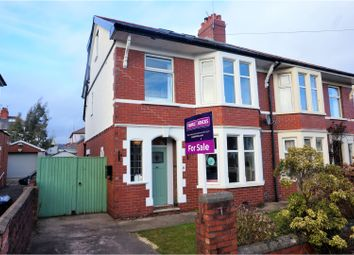 Thumbnail 4 bed semi-detached house for sale in Waun-Y-Groes Road, Rhiwbina