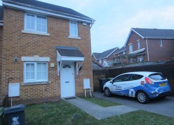 Thumbnail 2 bedroom semi-detached house to rent in Murrell Close, Caerau, Cardiff