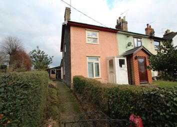 Thumbnail 2 bedroom end terrace house for sale in Stowmarket Road, Needham Market, Ipswich
