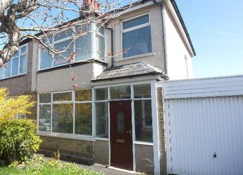 Thumbnail 3 bed semi-detached house for sale in Tranmere Crescent, Heysham