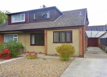 Thumbnail 4 bed semi-detached bungalow for sale in Cedar Close, Grimsargh, Preston