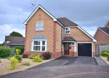 Thumbnail 4 bedroom detached house for sale in Snowshill Close, Barnwood, Gloucester