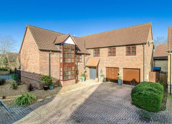 Thumbnail 5 bed detached house for sale in Trevithick Lane, Shenley Lodge, Milton Keynes