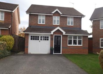 Thumbnail 3 bed detached house for sale in Clement Drive, Crewe, Cheshire
