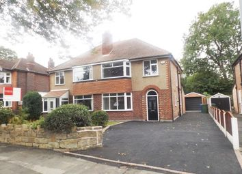 Thumbnail 3 bed semi-detached house for sale in Chester Road, Hazel Grove, Stockport, Chehsire