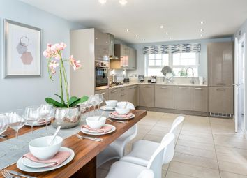 "Thumbnail 4 bed detached house for sale in ""Thornbury 4"" at The Green, Chilpark, Fremington, Barnstaple"