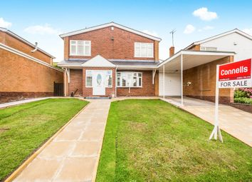Thumbnail 4 bedroom detached house for sale in Ashfield Road, Compton, Wolverhampton