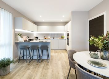 Thumbnail 2 bed flat for sale in Exeter Place, London