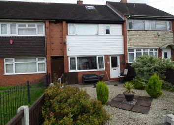 Thumbnail 3 bed town house for sale in Wrenbury Crescent, Berryhill, Stoke-On-Trent