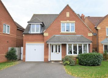 Thumbnail 4 bed detached house for sale in Hambleton Close, Oakham