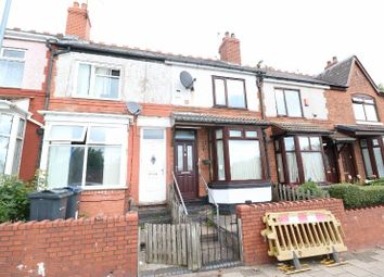Thumbnail 3 bed terraced house for sale in Victoria Road, Handsworth, West Midlands