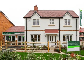"Thumbnail 4 bed detached house for sale in ""The Foxford"" at Station Road, Long Marston, Stratford-Upon-Avon"