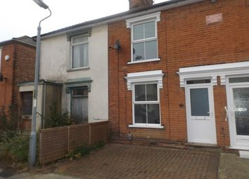 Thumbnail 3 bed terraced house to rent in Orwell Road, Ipswich