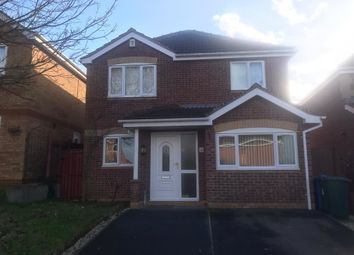 Thumbnail 3 bed detached house to rent in Blenheim Rise, Worksop