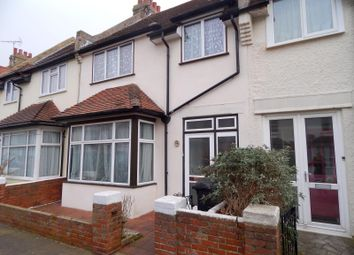 Thumbnail 3 bed terraced house to rent in Sidley Road, Eastbourne