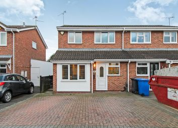 Thumbnail 3 bedroom semi-detached house for sale in Hilderstone Close, Alvaston, Derby
