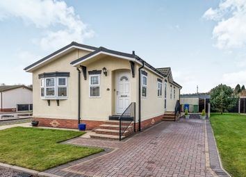Thumbnail 3 bed mobile/park home for sale in Castle Grange Park, Doxey, Stafford