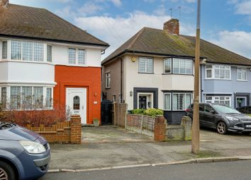 Thumbnail 3 bed semi-detached house for sale in Priory Avenue, Chingford, London