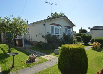 Thumbnail 2 bedroom mobile/park home for sale in Marshmoor Crescent, North Mymms, Hatfield, Hertfordshire