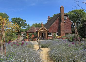 Thumbnail 4 bed detached house for sale in Half Moon Lane, Tudeley, Kent