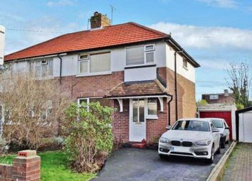 Thumbnail 3 bed semi-detached house for sale in Morland Avenue, Broadwater, Worthing