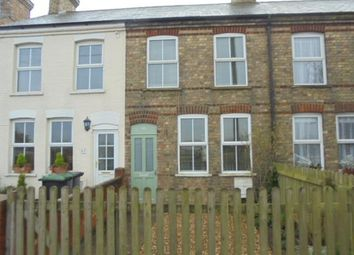 Thumbnail 2 bed terraced house to rent in Bedford Road, Willington, Bedford