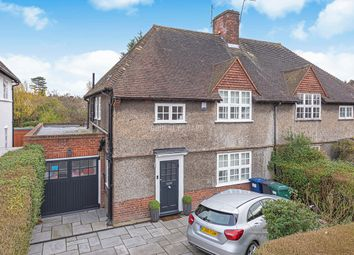 Thumbnail 4 bed semi-detached house for sale in Brookland Rise, London