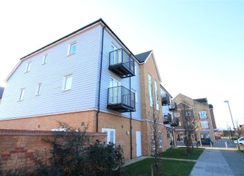 Thumbnail 1 bed flat for sale in Carnelian House, Diamond Close, Sittingbourne, Kent
