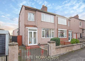 Thumbnail 3 bed semi-detached house for sale in Manor Drive, Flint