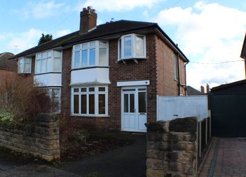 Thumbnail 3 bed semi-detached house to rent in Coventry Road, Beeston, Nottingham
