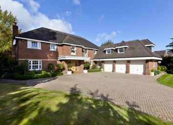 Thumbnail 6 bed detached house to rent in Furzefield, Oxshott